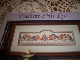 Celebrate His Love Book 30 Counted Cross Stitch Designs - $10.00