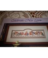 Celebrate His Love Book 30 Counted Cross Stitch Designs - $10.00