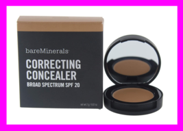Bare Minerals Correcting Concealer SPF20 Cover Up Face Under Eye Deep 2 Dark New! - $10.33