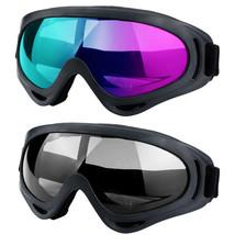2Pack Ski Goggles Snowboard Winter Sports Anti-Fog Glare Lens UV400 Glas... - $19.90