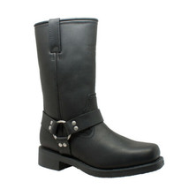 Men's Harness Boot Motorcycle Boot Bike Gear Rider Apparel by Daniel Sma... - $157.95