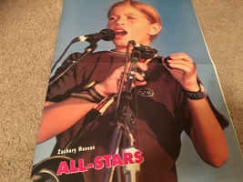 Zac Hanson 98 Degrees Nick Lachey teen magazine poster clipping dressed alike