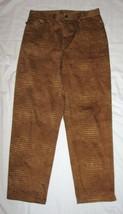 Ralph Lauren Womens Pants Spandex Animal Print  Brown Size 8 Petite  NEW - $77.39