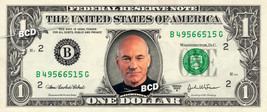 Jean Luc Picard on a REAL Dollar Bill Star Trek TNG Cash Money Collectib... - $7.77