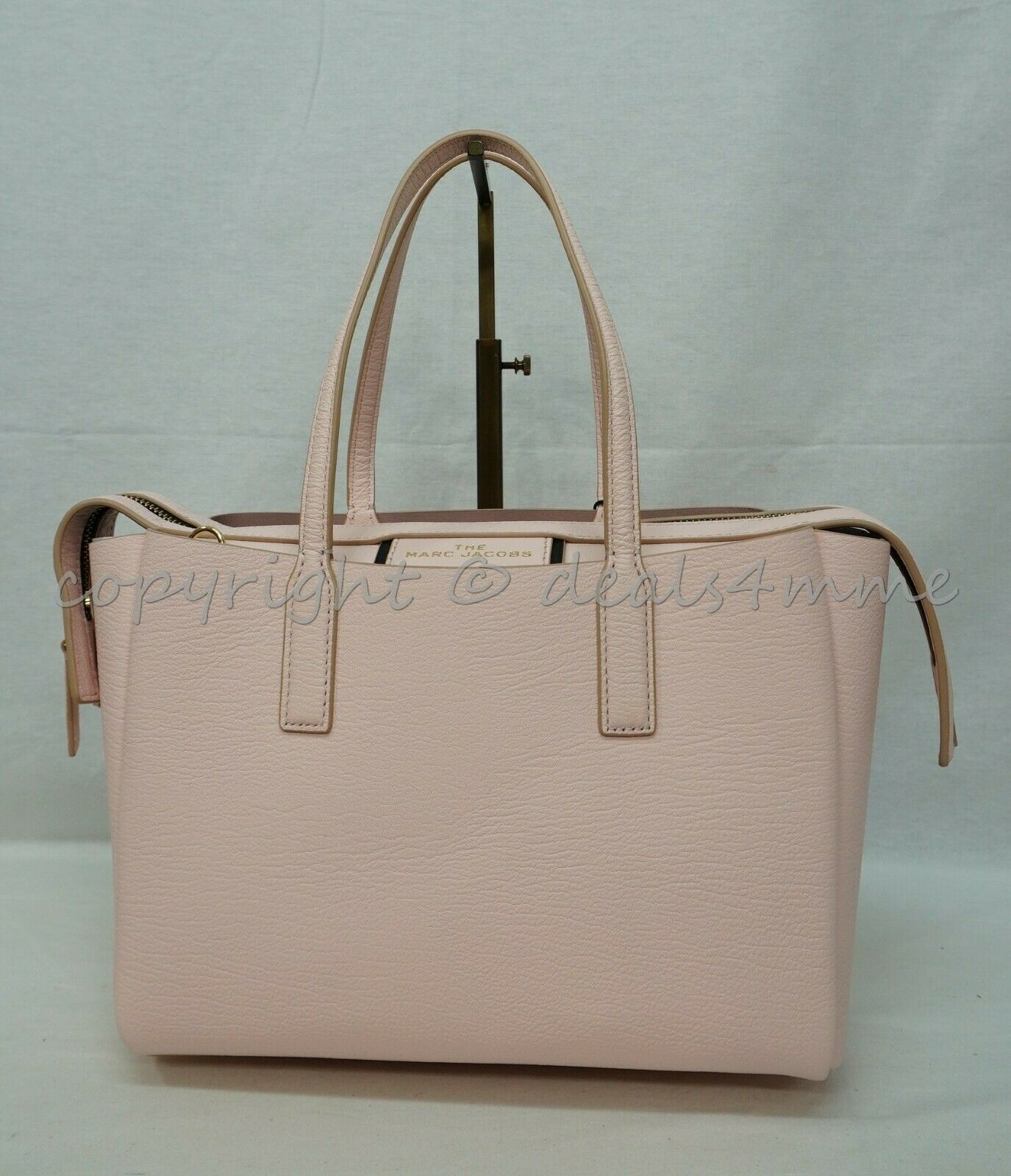 Primary image for Marc Jacobs M0016160 The Mini Protégé Leather Satchel/Shoulder Bag in Pink Tutu