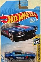 Hot Wheels 2018 HW Speed Graphics '70 Camaro - $4.95