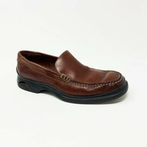 Cole Haan Air Mens Size 10 M Cognac Brown Leather Moc Toe Driving Loafer... - $48.37