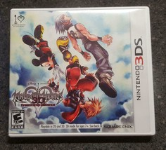 Kingdom Hearts 3D Dream Drop Distance (Nintendo 3DS, 2012) Complete (CIB... - $10.95