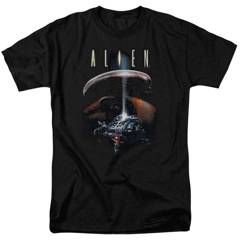 Alien t-shirt Spaceship Officer Ripley retro science fiction graphic tee TCF272