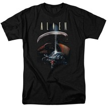 Alien t-shirt Spaceship Officer Ripley retro science fiction graphic tee TCF272 image 1