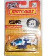 "Matchbox 1987 ""Mission Chopper"" Mint Car On Sealed Card #MB46 - £5.81 GBP"