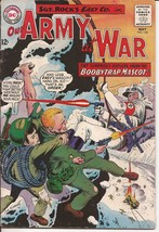 DC Our Army At War #154 Sgt Rock Easy Co Boobytrap Mascot Battlefield Ac... - $9.95