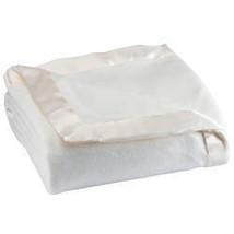 Satin Fleece Blanket by OakRidge-FULL-QUEEN-OFF-WHITE - $47.48
