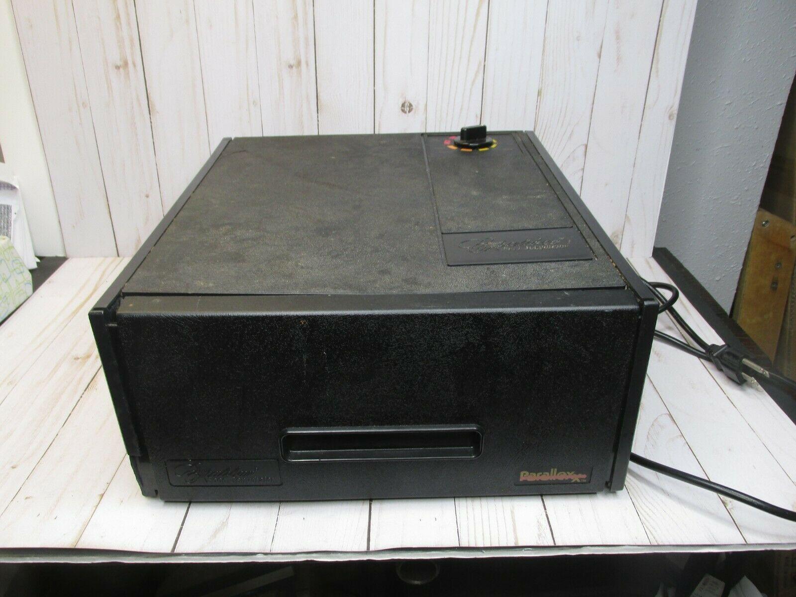 Excalibur Electric Food Dehydrator w/ Thermostat, 4-Tray, Black Cracks in plasti - $84.14