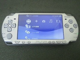 PSP Playstation Portable Ice Silver PSP - 2000IS Only Console Sony Used - $71.98