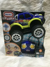 Little Tikes Rc Wheelz First Racers Radio Controlled Truck Bsh - $14.01