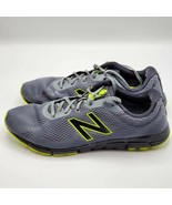 New Balance Mens 600 V2 ComfortRide Running Shoes Gray Yellow Sports Low Top 12 - $23.75