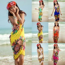 Summer Women Bathing Suit Bikini Swimwear Cover Up Beach Dress Sarong Wr... - $5.99