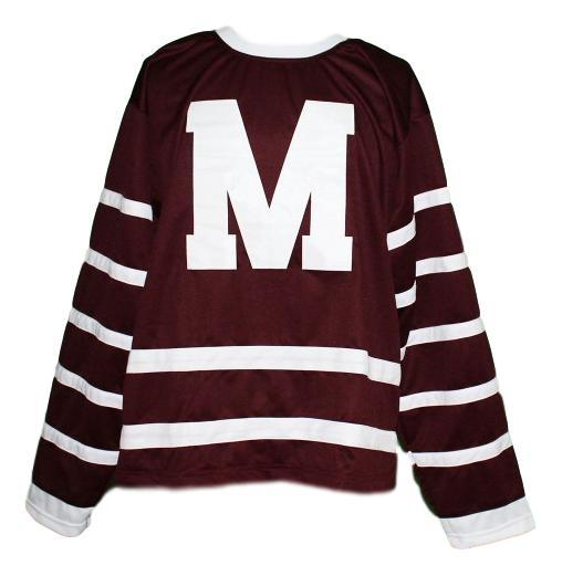 Custom # Montreal Maroons Retro Hockey Jersey New Maroon Any Size