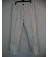 1953WH Mens Dickies White Drill Painters Pant, 36 X 34. 100% Cotton. - $22.77