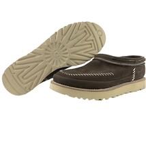 UGG Moccasins Size 9 Mens Campfire Slip On Stout Brown Leather Nubuck Stitched - $139.95
