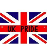 Fast Service Designs United Kingdom UK Sign 8 x 12 Pride Patriot Emblem - $11.87