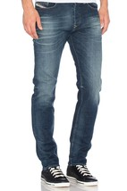 NEW DIESEL MEN'S DESIGNER REGULAR SLIM TAPERED BUSTER DENIM JEANS 0850K_STRETCH