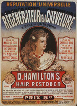 "8x10"" ultra premium poster print    Medical hamiltons hair restorer turn... - $11.99"