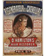 "8x10"" ultra premium poster print    Medical hamiltons hair restorer turn of cent - $295,13 MXN"