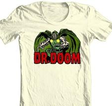 Dr Doom T-shirt retro Bronze Age Comics super hero 100% cotton graphic tee image 2