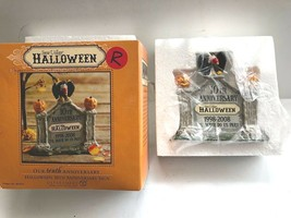 Department 56 halloween 10th Anniversary Sign - $9.89