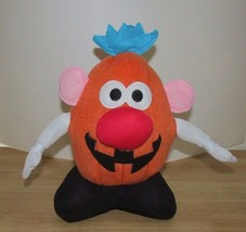 "Plush Hasbro 11"" Mr. Potato Head pumpkin jack o lantern Halloween  toy o... - $9.99"