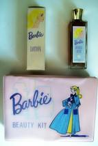 Vintage 1961 Barbie Beauty Kit -EX Case Includes Bottles of Bubble Bath ... - $173.95