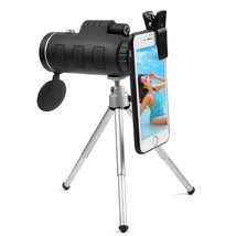 Mini HD 40X60 Monocular Day and Night Vision Telescope Phone with Tripod... - $25.66