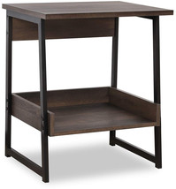 Sekey Home End Table, 2-Tier Side Table With Storage Shelf, Sturdy And E... - $99.18
