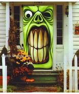 Hilarious Angry Frankenstein Door Wall Mural Halloween Decor - $4.94