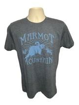Marmot Mountain 1974 Beaver Adult Medium Gray TShirt - $22.00