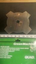 "DG-07816 9"" Grass Blade 1"" Arbor Hole (Max RPM 10000) Green Machine (bin90) - $18.70"