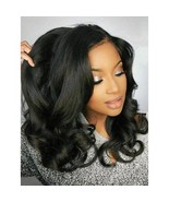 """18""""Natural Wave Remy Human Hair Bleached Knots 360 Lace Frontal Wigs - $129.02+"""