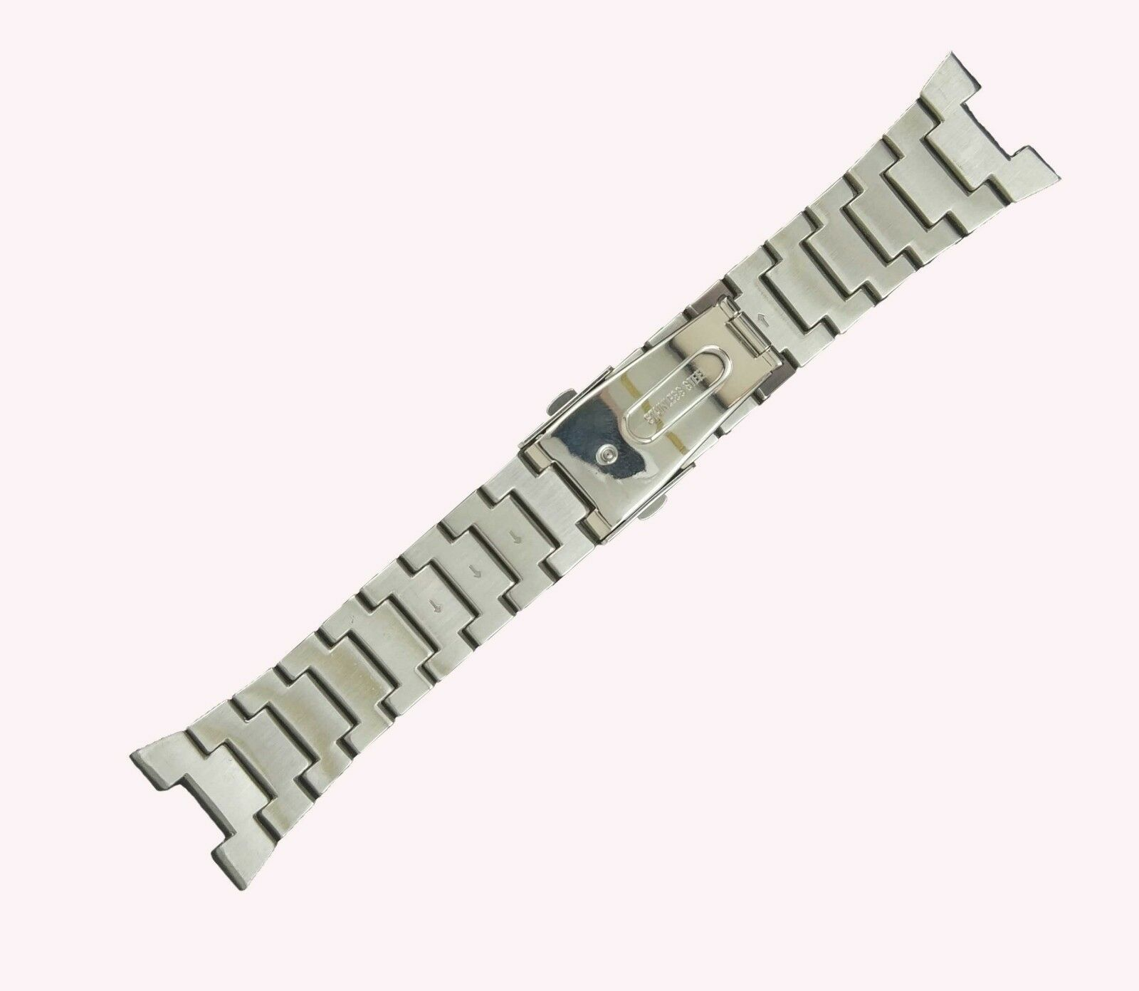12x28mm Steel Watch Bracelet For Seiko SNAD37 4A1J1JRR 524SKO