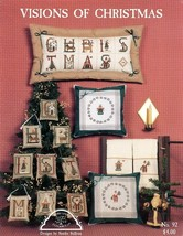 Visions Of Christmas Homespun Elegance Cross Stitch Pattern Leaflet NEW - $1.77