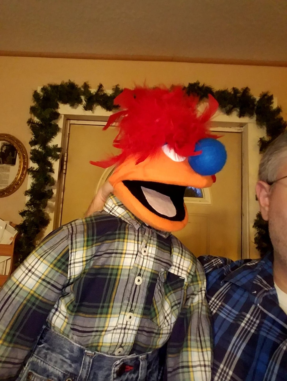 "MADE TO ORDER: Professional ""Sillman"" Muppet Style Ventriloquist Puppet"