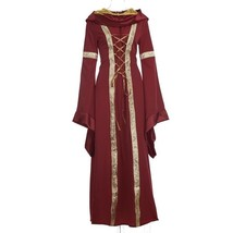 Women Halloween Costume Wench Victorian Renaissance Dress Witch Medieval... - $45.90