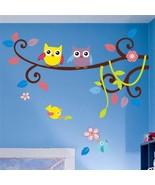 ZOOYOO® Hot Selling Wonderful Owl Tree Wall Decals Zooyoo1006 Waterpoof ... - $5.07+
