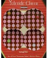"Yuletide Cheer, Set of Four 8"" Salad/Dessert Plates - $21.78"