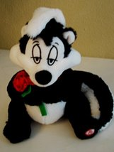 Pepe Le Pew Skunk Talking Plush - Sits 10 Inches - $58.99