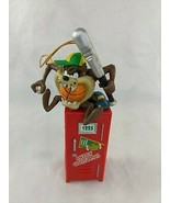 "Tasmanian Devil Taz Christmas Ornament Locker 5"" 1998 Warner Bros Tazmanian - $9.95"