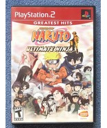 Naruto: Ultimate Ninja (Sony PlayStation 2, 2006) - $9.89