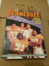 1995 Tennessee Volunteers NCAA Football media guide & 2 photos Fulmer & Manning  - $24.75