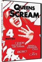 Queens of Scream Collection (DVD) ~ 4 MOVIE COLLECTION ~ BRAND NEW SEALED ~ - $4.99